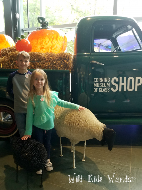 Corning Museum of Glass with Kids